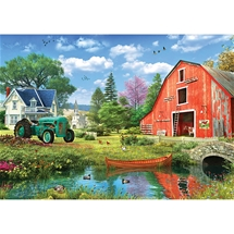 The Red Barn 1000 pc