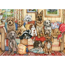 Gathering On The Couch 1000 pc