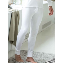 Men's Brushed Rib Long Pants