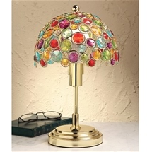 Jewel Tiffany-style Lamp