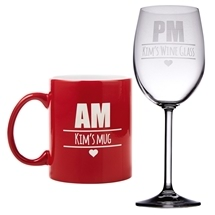 Personalised AM/PM Set