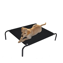 Heavy Duty Black Dog Bed