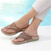 Adjustable Orthotic Thongs
