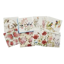 Australian Birds and Flowers Serviettes