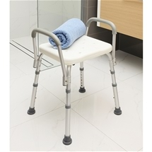 Shower Stool with Armrest