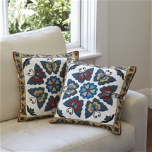 Crewel Work Cushion