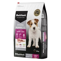 Black Hawk Puppy Lamb & Rice 3kg-20kg