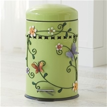Step Bin with Decals