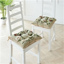 Butterfly Jacquard Chair Cushions