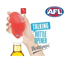 AFL Talking Bottle Opener