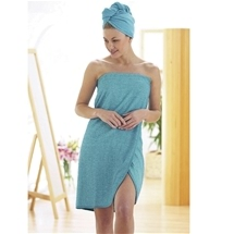 Microfibre Hair & Body Wrap Set