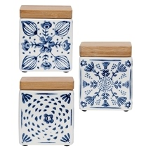 Mini Canisters Set of 3