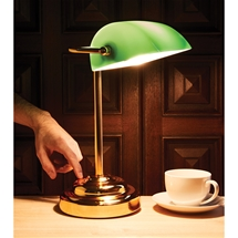 Classic Bankers Touch Lamp