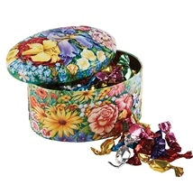 Churchills Flower Tin