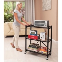 Collapsible Trolley Shelves