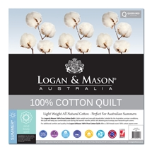 Logan and Mason 100% Cotton Quilt