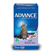 Advance Cat Adult Delicate Tuna Cans
