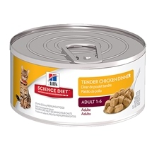 Hill's Science Diet Feline Adult Tender Chicken 156g x 24