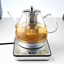 Digital Glass Kettle with Tea Infuser