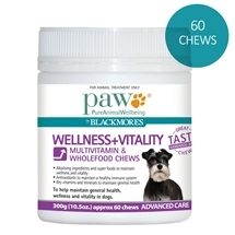 Paw by Blackmores Wellness + Vitality Chews