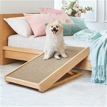 Adjustable pet ramp