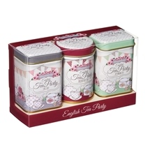 New English Mini Tea Tin Set