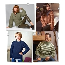 Bergere Sport Knitting Pattern Pack