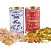 Farrah's Caramel, Fudge & Toffee