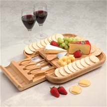 Feast Bamboo Cheese Board