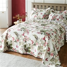 Floral Butterfly Bedspread