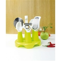 Kitchen Utensil Set with Stand