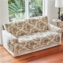 Floral Scroll Furniture Cover Set