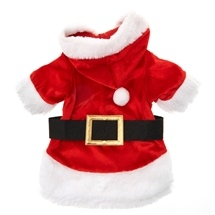 Pet Santa Claus Christmas Costume