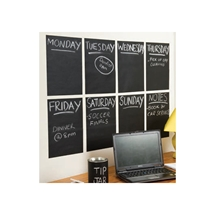 Peel & Stick Chalkboard Set