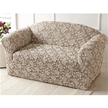 3D Rose Stretch Furniture Covers