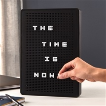 Light-Up Message Board