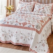 Luxurious Patchwork Bedspread