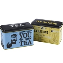 80g New English Teas Memorabilia Tins