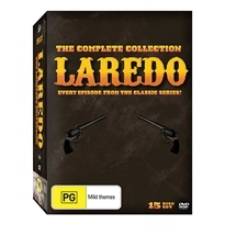 Laredo - The Complete DVD Collection