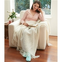 Montmartre Knitted Throw