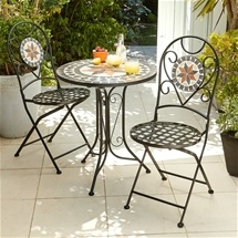 Mosaic Bistro Table & Chairs