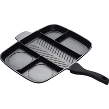 Multi Section Divider Fry Pan