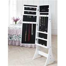 Mirror Stand with Jewellery Storage