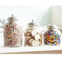 Glass Jar Storage Set