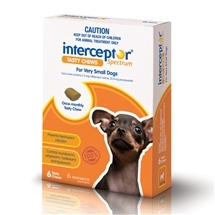 Interceptor Spectrum Chews 6 Pack