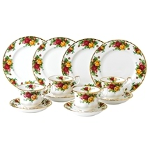 Royal Albert Old Country Rose 12pc Tea Set