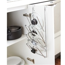 Door Pot Lid Rack