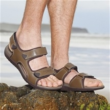 Men's Orthotic Footbed Sandals