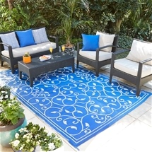 Reversible Outdoor Patio Mat