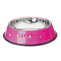 Personalised Bling Pet Bowl